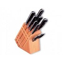 Набор кухонных ножей Vinzer Master VZ-89111 9 предметов на подставке