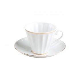 81.14514 Чашка+блюд.220мл Лучист.Белосн.