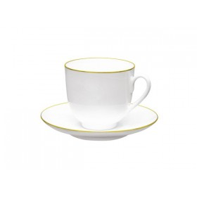 81.14287 Чашка+блюд.180мл Ландыш Зол.кан