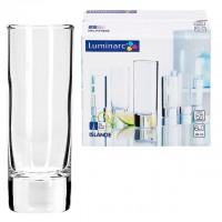 Набор стопок для крепких спиртных напитков стекло Luminarc Islande J2891 6 шт 60 мл