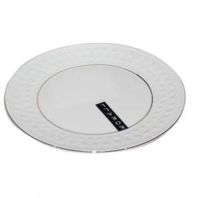Тарелка десертная круглая Коралл Снежная королева CS228821-A 21 см
