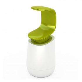 85053 Диспенсер д/мыла белый/зеленый