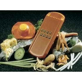 Терка салатная Borner Карли 3000377 пластик оранжевая