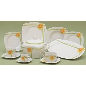 TT011VTS/18 Набор тарелок 6/18'Нарцисс'