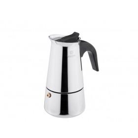 Гейзерная кофеварка Vinzer VZ-89391 нержавеющая сталь 4 чашки 0,22 л