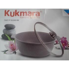 Жаровня-кастрюля KUKMARA жмс-42а мраморная 4 литра