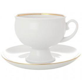 81.15302 Чашка+блюд.Клас.Золотой кантик