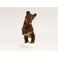 82.01023 Скульптура Медвежонок стоящий