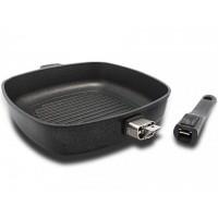 Сковорода-гриль BAF 500116260-I съемная ручка индукция 26 см
