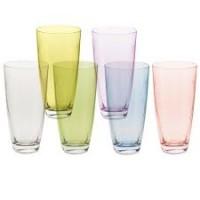 Набор стаканов для виски стекло Crystalex Bohemia Элизабет 25186/Q8091/350 6 шт 350 мл