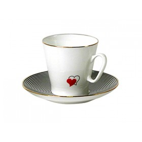 81.16016 Чашка+блюд.Черн.кофе Сердечки