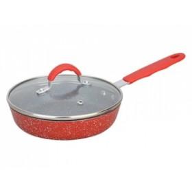 Мини-сковорода Hotter Малыш REK05 с мраморным покрытием 16 см