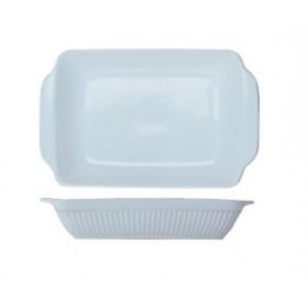 Блюдо для выпечки фарфор BergHoff BIANCO БГ 1691008 прямоугольное 29*18*5 см