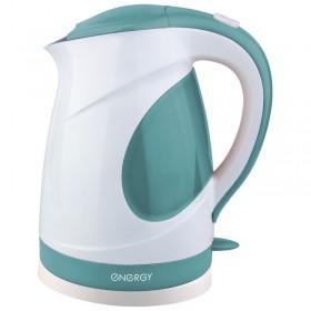 Е-204_з Чайник ENERGY 1.7л бело-зеленый