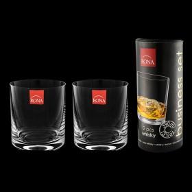 1605/0/390 Набор стаканов для виски 2шт TUBUS