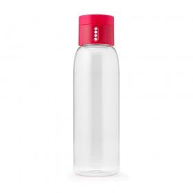 81051 Бутылка д/воды 600мл розовая