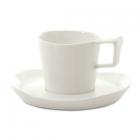 Кофейная пара витрофарфор BergHoff БГ 3700024 набор для эспрессо на 2 персоны 4 предмета 0,080л