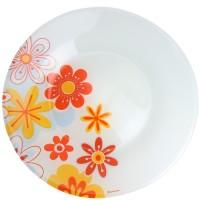 Тарелка столовая мелкая стекло Pasabahce Summer 10328SLBDS 26 см