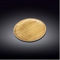 WL-771033 Тарелка бамбук 23см