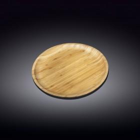 Тарелка сервировочная бамбуковая Wilmax WL-771033 круглая 23 см
