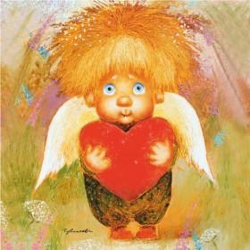 Магнит Ангел доброго сердца