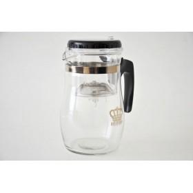 Чайник заварочный стекло Queen Ruby QR-6040 металлическая сетка-фильтр 850 мл