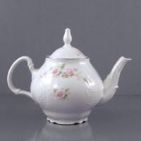 Чайник фарфор Bohemia Бледные розы Е5396021_ч1200 1200мл