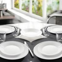 Столовый сервиз 18предметов 6 предметов HARENA WHITE L3270