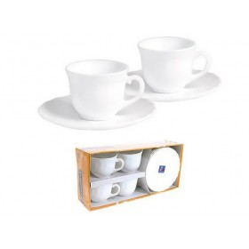 Чайный сервиз стекло Luminarc TRIANON 67530 на 4 персоны 280 мл