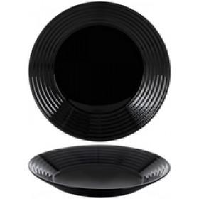 Тарелка суповая стекло Luminarc  Harena Black  23,5 см