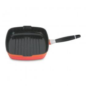Сковорода-гриль BergHoff Virgo Orange БГ 8500138 28 см 4,3 л