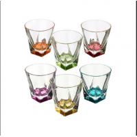 Набор стаканов для виски эко хрусталь RCR Fusion COLOUR 28251 6 шт 270 мл