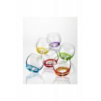 Набор стаканов для воды стекло Crystalex Bohemia Crazy 20180 6 шт 390 мл