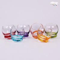 Набор стопок для крепких спиртных напитков стекло Crystalex Bohemia Crazy 26013 6 шт 60 мл