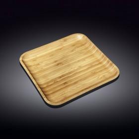 WL-771024 Тарелка бамбук 28*28см