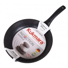 Сковорода Kukmara смти-240а мраморная индукция 24 см