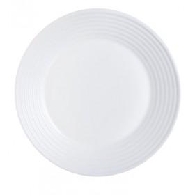 Тарелка подстановочная стекло Luminarc Harena White L3263 27 см белый