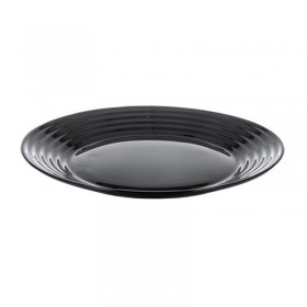 Тарелка десертная стекло Luminarc Harena Black L7613 19 см черный