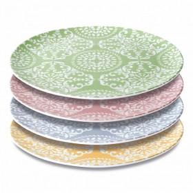 Набор фарфоровых декоррированных тарелок BergHOFF Essentials 30 см