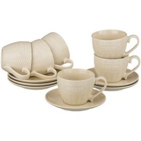 Чайный набор керамика Lefard 756-123 на 6 персон 12 предметов