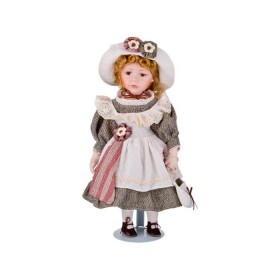 346-235 Кукла фарфоровая 40см