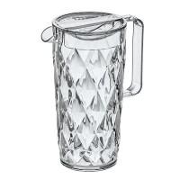 Кувшин с крышкой полимер Koziol Crystal 3688535 прозрачный 1,6 л