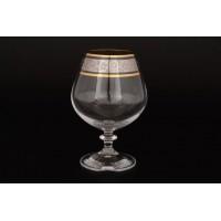 Набор бокалов для бренди стекло Bohemia Crystal Идеал 27007 6 шт / 400 мл