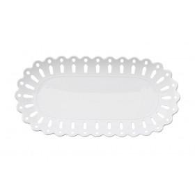 Блюдо овальное фарфор Maxwell & Williams Лилия MW580-AY0046 белое 30 х 15 см