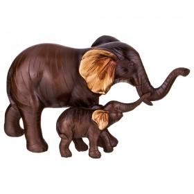 162-485 Статуэтка Слоны 12см