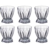 Набор стаканов для виски стекло Bohemia 614-585 6 шт 320 мл