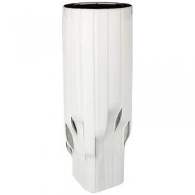 Ваза декоративная керамика Lefard Серебрянная коллекция 699-274 белая 39 см