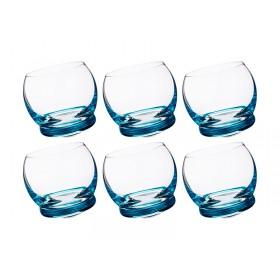Набор стопок для крепких спиртных напитков стекло Crystalex Bohemia Crazy 674-517-2 6 шт 60 мл