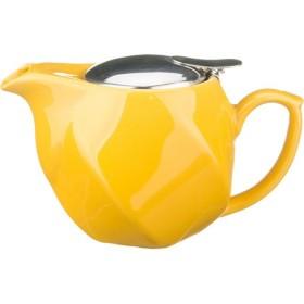 Чайник заварочный керамика Agness 470-181 желтый 500 мл
