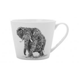 Кружка костяной фарфор Maxwell Williams Африканский слон MW637-DX0510 0,45л